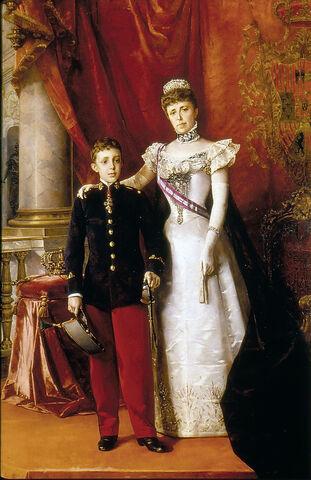 Nacimiento del rey Alfonso XIII