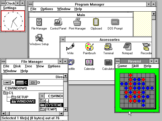 Windows 3 (Mayo 1990)