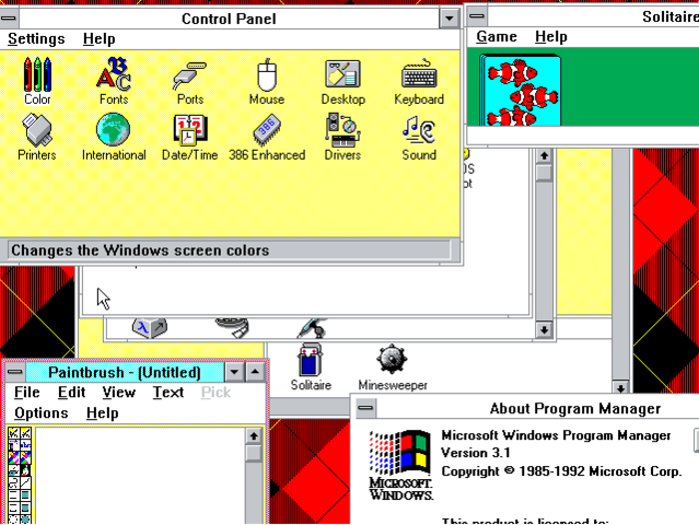 Windows 3.1 (Marzo 1992)