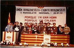 Fundación de la Unión Aragonesista (diciembre)