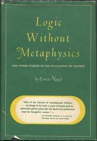 """""""Logic Without Metaphysics"""" Published"""