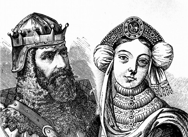 Casamento de D. Henrique de Borgonha com D. Teresa de Leão