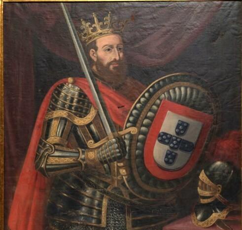 O cavaleiro D. Afonso Henriques