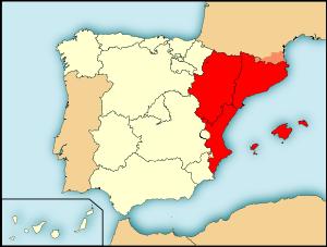Unión de Aragón y los condados catalanes. Se forma la corona de Aragón