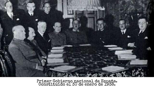 Bando Nazionaleko lehenengo gobernuaren sorrera