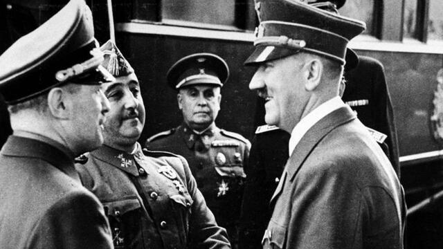 Franko eta Hitlerren bilera Hendayan