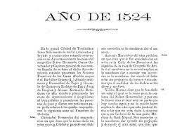 Primera acta de cabildo en la Nueva España