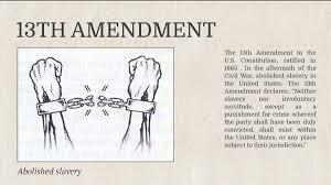 13 Amendment