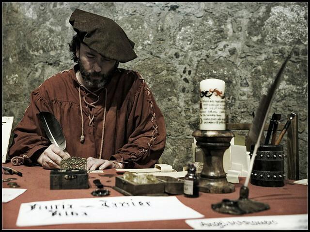 Creación de la primera organización de escribanos de la Nueva España