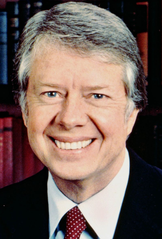 Jimmy Carter diviene nuovo presidente degli USA