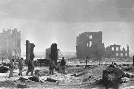 La batalla de Stalingrado.