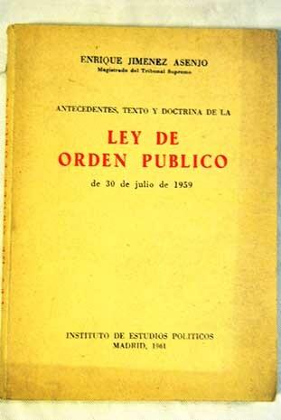 Ley de orden público