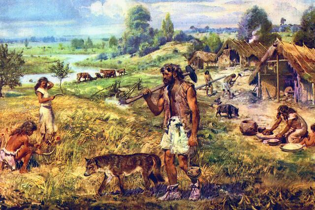 Avances de desarrollo tecnológico en la Prehistoria-Neolítico (10 000 - 3500 a.C.)