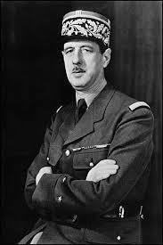 Charles de Gaulle ( 1er personaje )