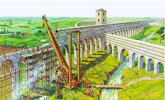 Avances tecnológicos generales: Desarrollo de la Mecánica y de la Arquitectura en la Edad Antigua (3500 a. c- 476 d. c)