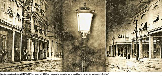 Iluminación de las calles