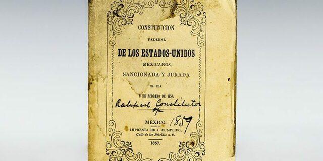 Nueva Reforma de la Constitución