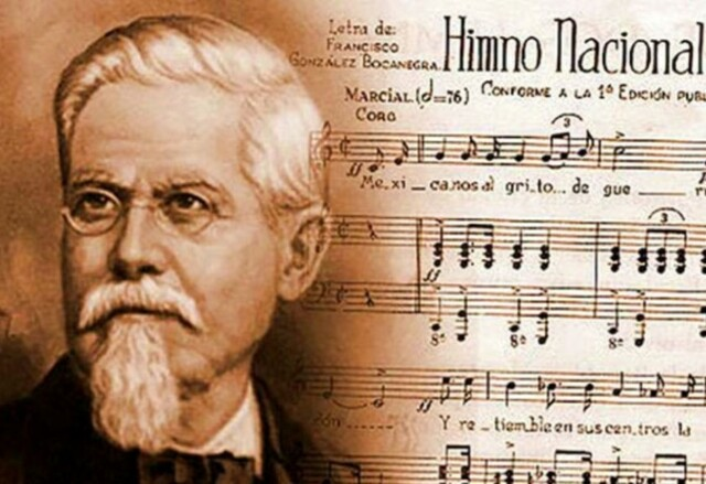 1854 Himno Nacional