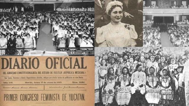 Primer congreso Feminista en México