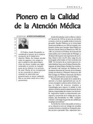 """Volumen """"La calidad de la atención medica"""""""
