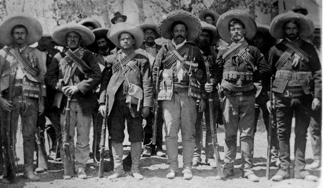 1910 Inicio de la Revolución Mexicana