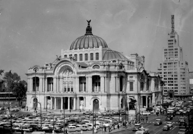 Inauguración del Palacio de las Bellas Artes