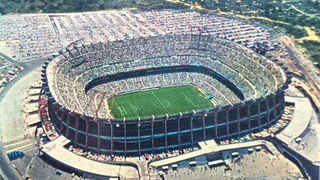 Fundación del Estadio Azteca