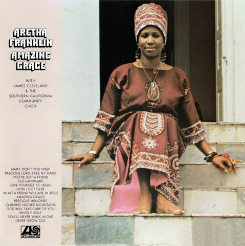 Aretha Franklin's releases best-selling album, 'Amazing Grace'