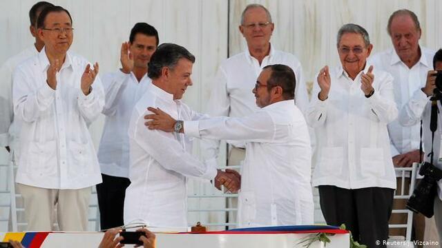 Firma del Acuerdo de Paz con las FARC