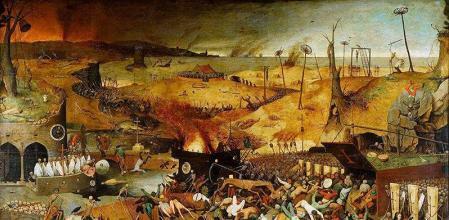 La gran epidemia de peste y la guerra de los Cien Años
