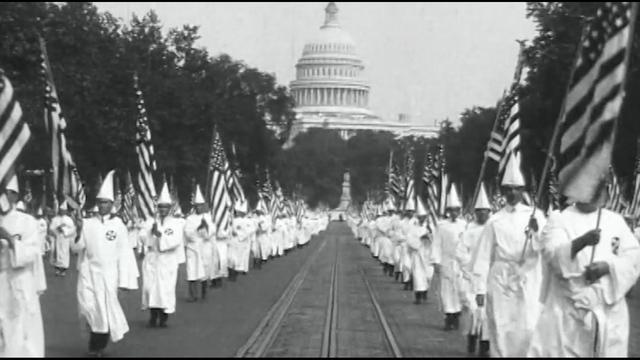 KKK March in Washington D.C.