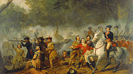 The French and Indian War by Rachael Pulica timeline