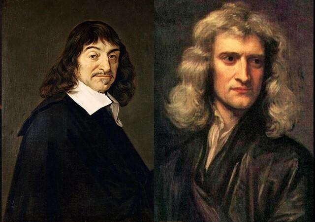 Newton y Descartes