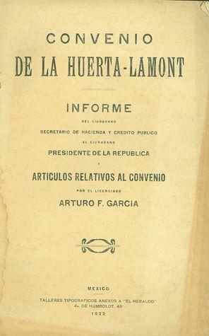 Tratado Huerta-Lamont