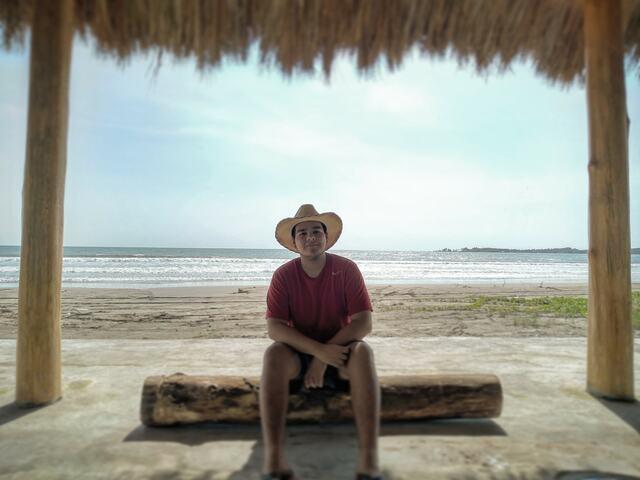 Fui por primera vez a la playa