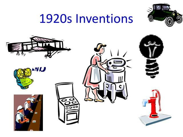 1920 Inventions