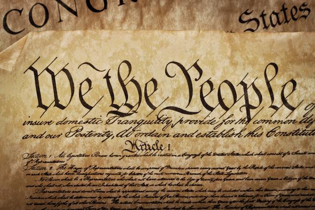 U.S. Constitution Written