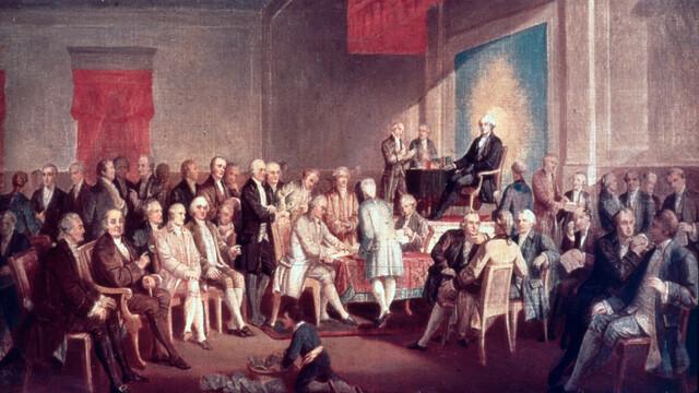 U.S. Constitution adopted
