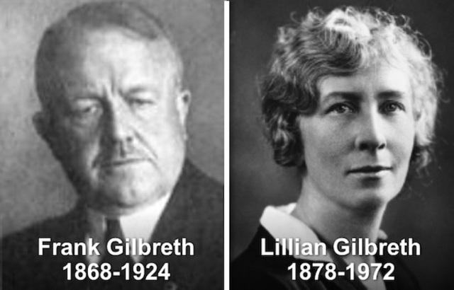 Importantes defensores de la administración científica, ambos nacidos en los Estados Unidos.