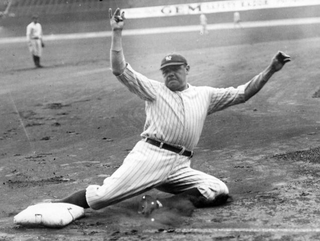 Babe Ruth Breaking Records