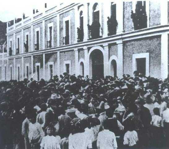 1907 Huelga de Río Blanco.
