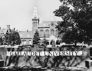 Criação da Universidade de Gallaudet