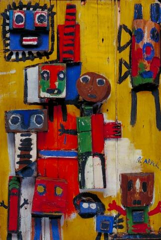 Karel Appel, Questioning Children, 1949
