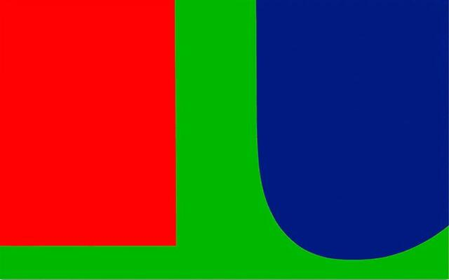 Red Blue Green, Ellsworth Kelly, 1963