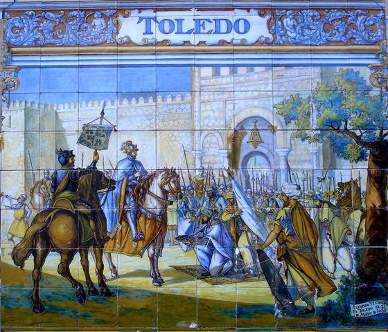 Alfonso VI conquista Toledo