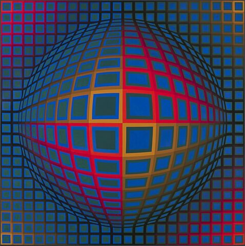 Victor Vasarely, Vega-Nor, 1969