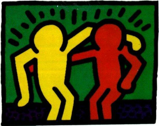Best buddies, Keith Haring