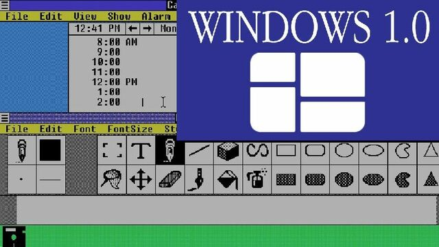 Windiws 1.0