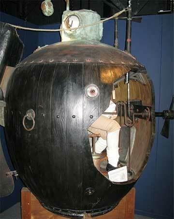 First Submarine Built