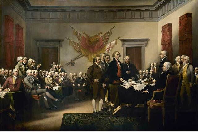 Declaration of Independence was created